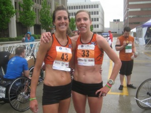 I'm grateful for the relationships formed through running!