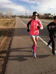 Rocking my Herzog Sport Compression Socks and my Brooks gear on my Sunday run!  Thanks to my amazing sponsors!