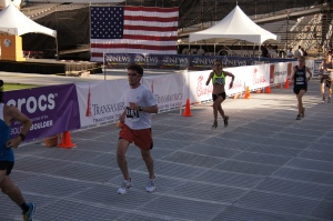 2013 BOLDER Boulder Finish!
