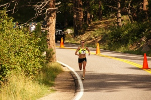 Evergreen 10k, yes it's downhill!